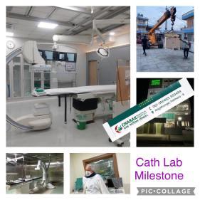 Charak Memorial Hospital Cath Lab Milestone