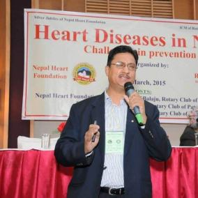 Dr Prakash Raj Regmi Consultant Cardiologist