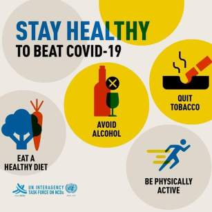 Stay Healthy to beat COVID-19
