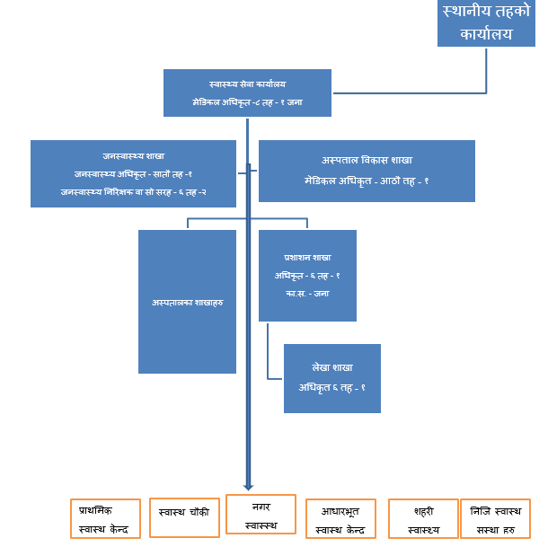 Structure of Palika Level Public Health Office