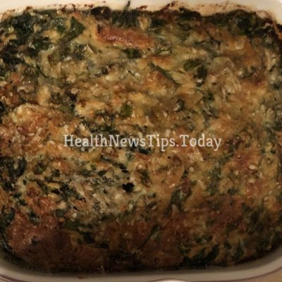Frittata Bacon, Spinach and Mushrooms