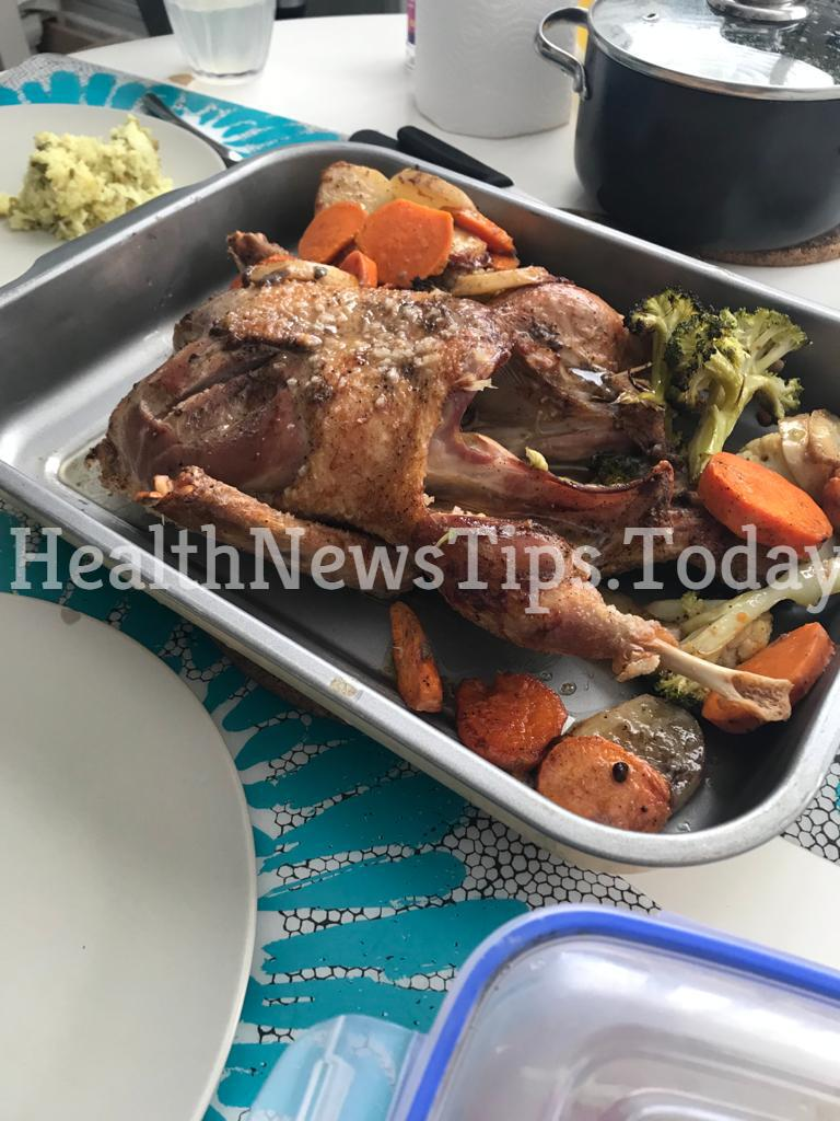 Keto Roasted Duck & Vegetables