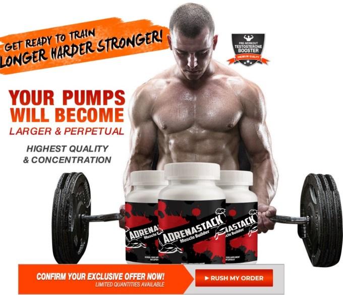 AdrenaStack Muscle Builder
