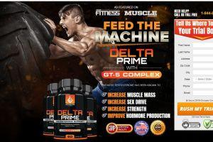 HexoFire Delta Prime Testosterone Support Formula