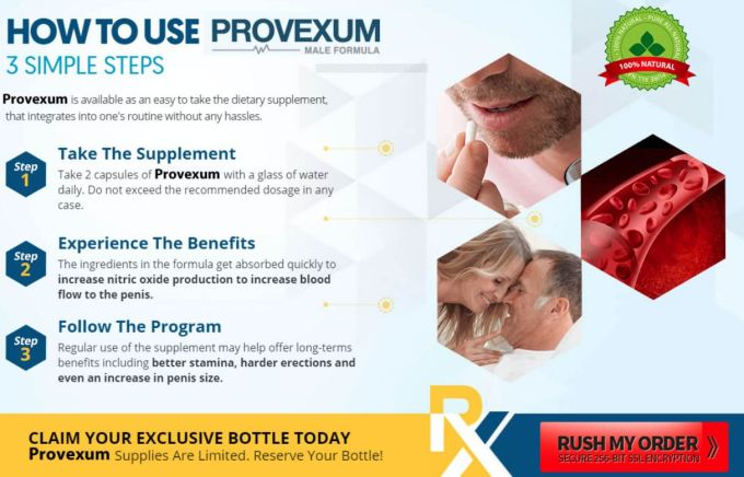 Provexum Male Enhancement Formula UK
