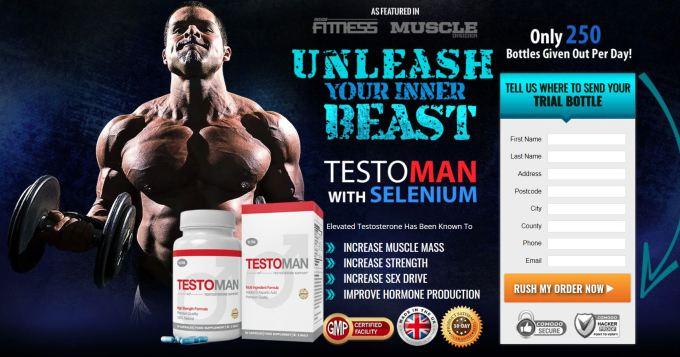 Testoman Testosterone Support Formula