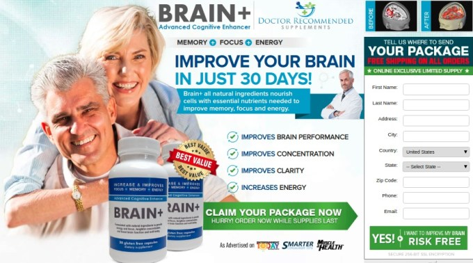 Brain Plus Supplement review