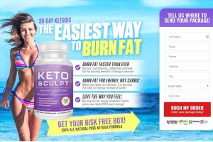 Keto Sculpt Weight Loss Pills