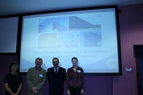 Professor Debbie Tolson, Professor Mike Nolan, Professor Ehsan Meshabi and Dr Beverley Young