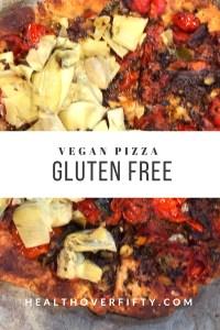 Vegan& Gluten Free Pizza Crust Delicious