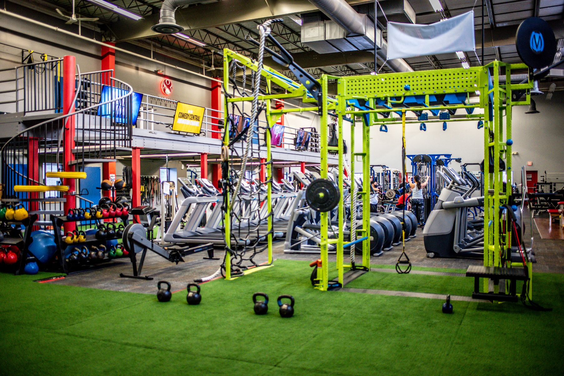 Healthplex Fitness Clifton Park NY Functional Training Area