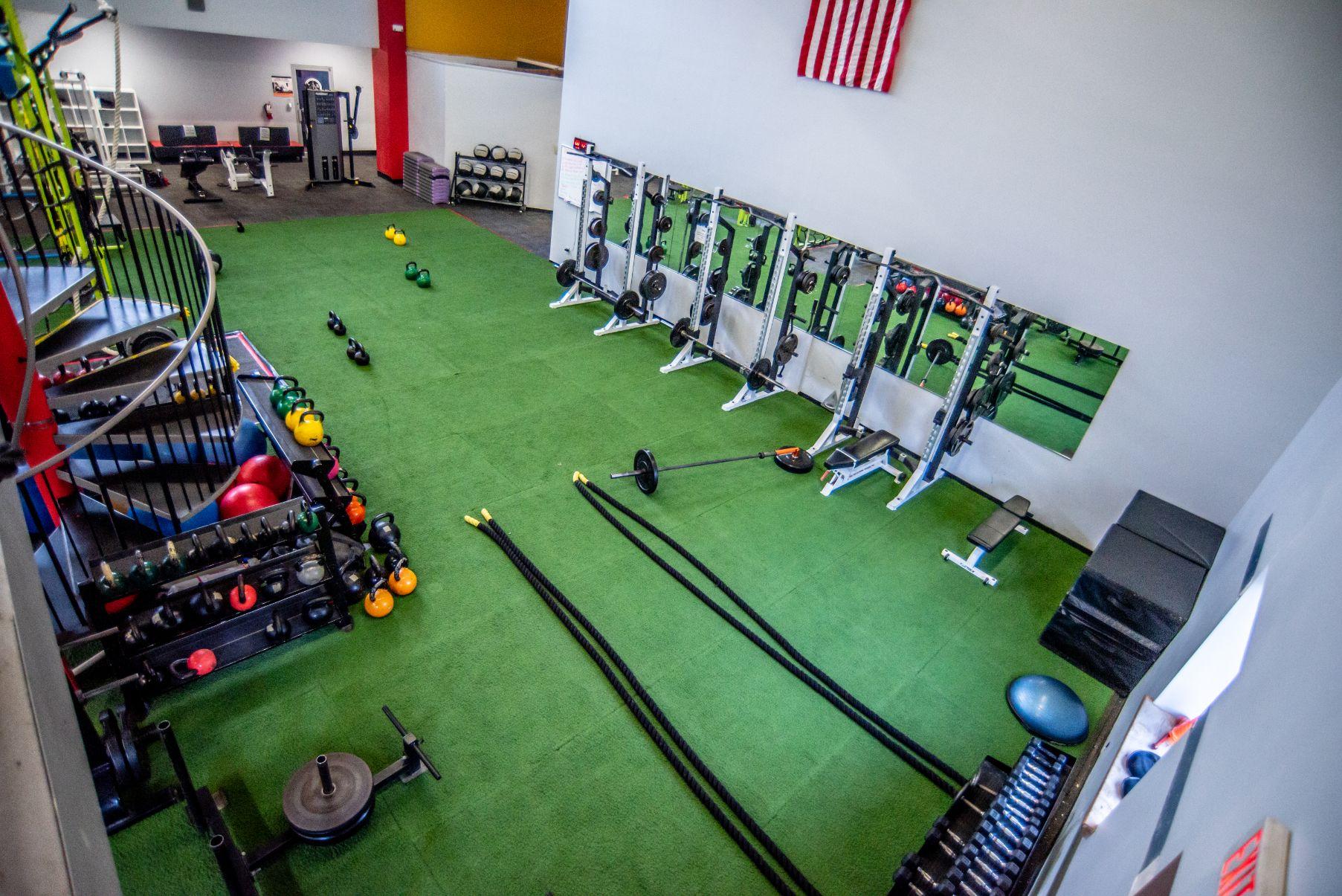 Healthplex Fitness Clifton Park NY Group Training Area