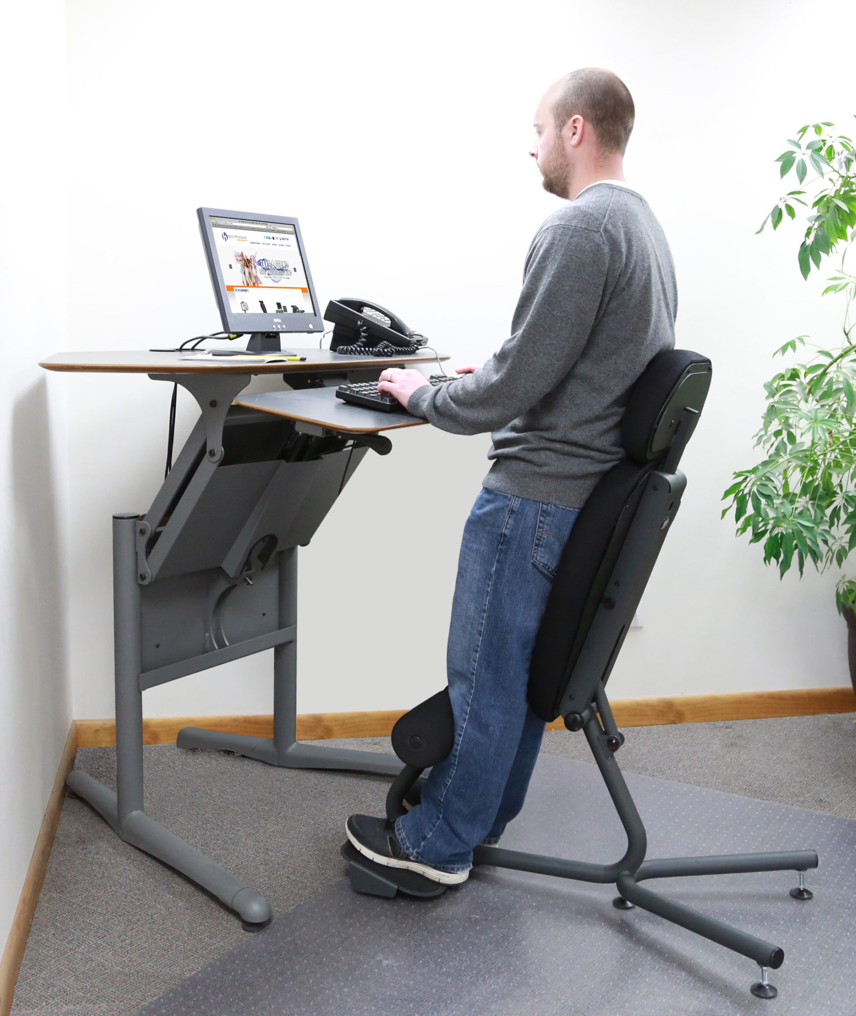 Standing Desk Chairs Stance Angle Chair Ergonomic Standing Chair Healthpostures