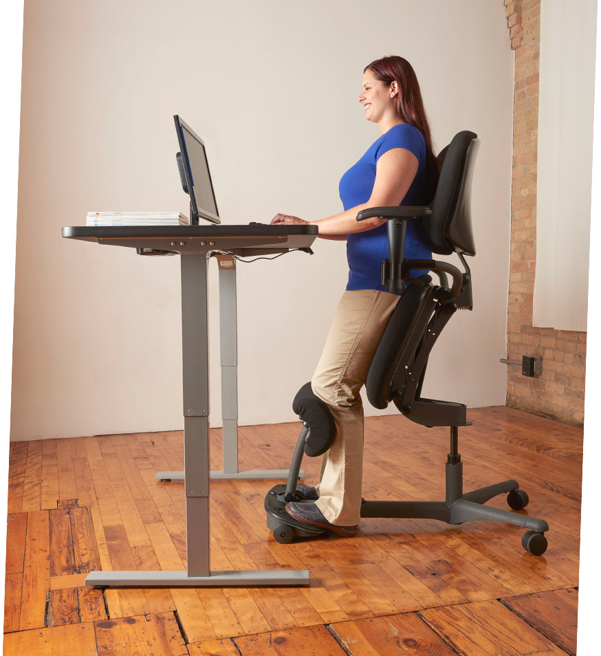 ergonomic chair back angle shabby chic cushions stand up | sit healthpostures
