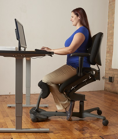 ergonomic chair with leg rest zero gravity reclining outdoor lounge 2 pack stand up | sit healthpostures