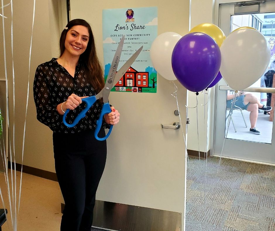 Social Work Student Launches Food Pantry at Community School