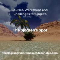 The Sjogren's Spot courses workshops and challenges for people with Sjogren's Disease