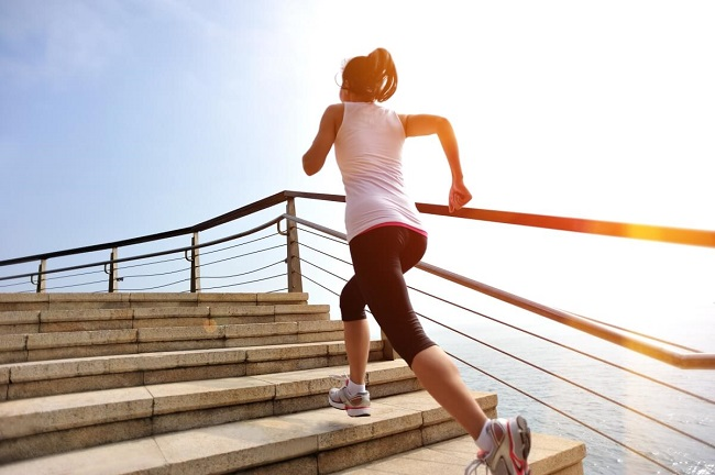 stair climbing exercise