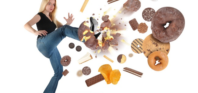 Full stop on sugary foods images