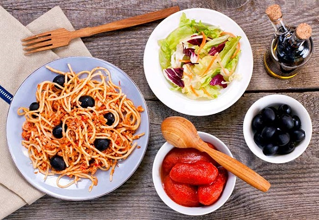 Reduce your variety and your portions