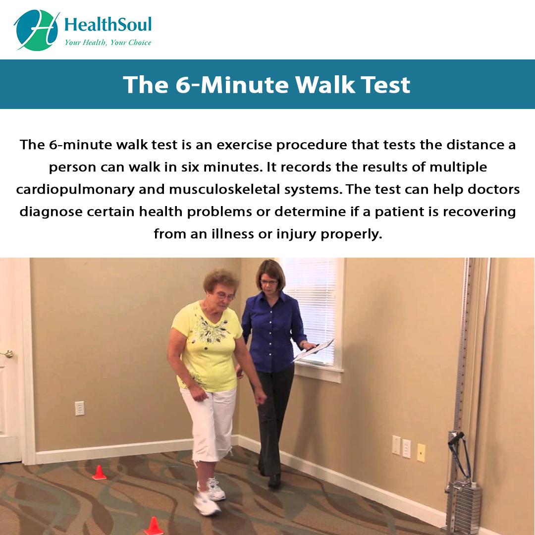 6-Minute Walk Test | Healthcare | HealthSoul