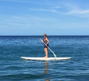 Paddleboarding with Crohn's