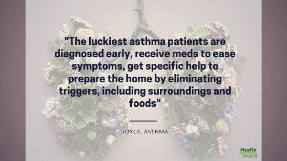 Luckiest asthma patients quote