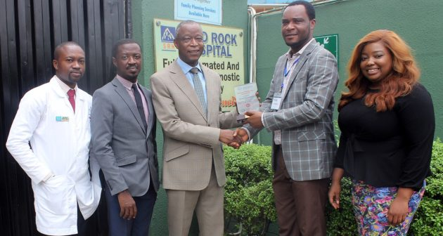 Solid Rock Hospital Ojodu, Lagos Receives Healthcare Excellence Award