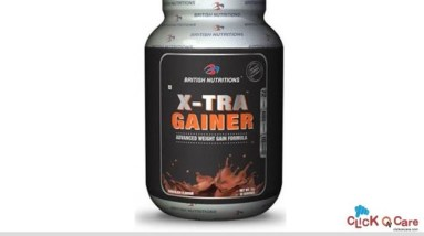 Buy British Nutritions Xtra Gainer Online in India