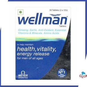 Wellman Multivitamin Tablets On ClickOnCare