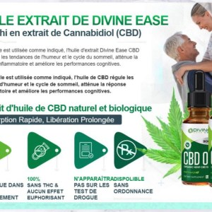 Divine Ease CBD Oil Reviews, Ingredient & Side Effects