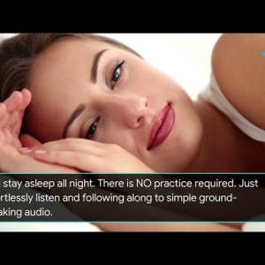 How To Cure Insomnia For Good | New treatment for sleep deprivation