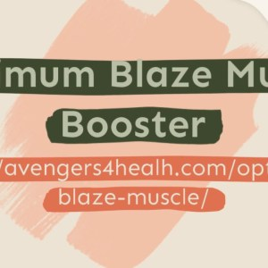 Optimum Blaze Muscle Booster – Muscle Building Formula!