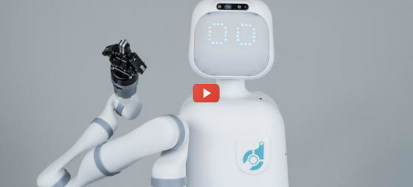 Robot Assists Nurses with Manual Tasks [video]