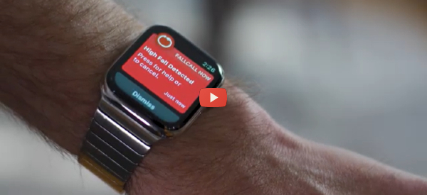 CES 2021: New Smart Watch System Detects Falls [video]