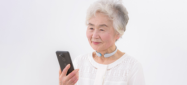 CES 2021: New Neckband Monitors Swallowing in Seniors