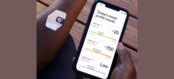 New Consumer Sweat Patch Tracks Hydration