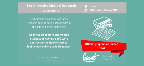 You're Invited to Present at the GIANT Health Event