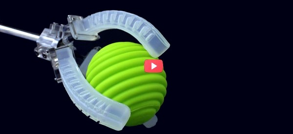 Soft Robot Includes 3D Printed Sensors [video]