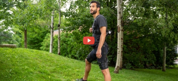 Robotic Shorts Help Walking and Running [video]