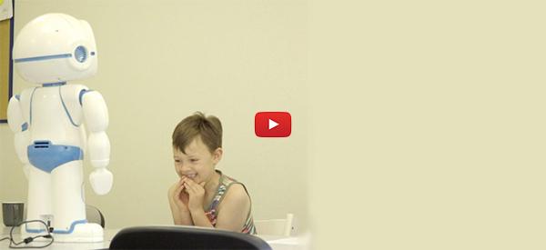 New Friendly Robot Tutor Can Help Autistic Children [video]