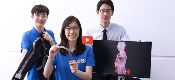 Sensor Networks Create Smart Skin [video]