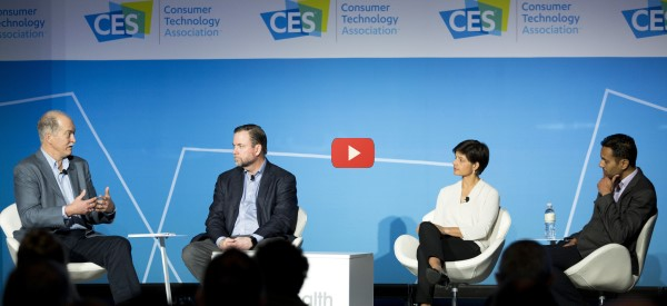 CES 2018: Digital Health Summit Panel [video]
