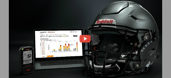 Football Helmet Monitors Impacts [video]