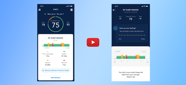 Smart Bed Shows How Sleep Contributes to Overall Health [video]