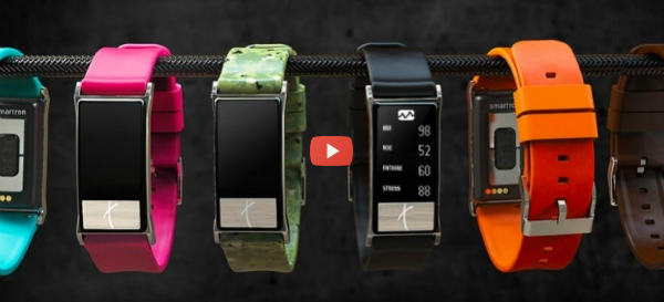 Smartwatch Monitors Blood Pressure and More [video]