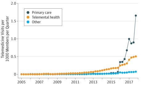 Telemedicine Use Grows Rapidly