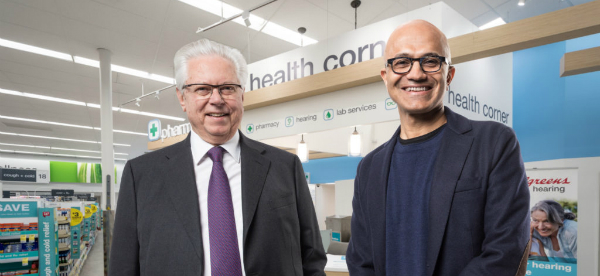 Microsoft and Walgreens Join for Patient-Centered Healthcare