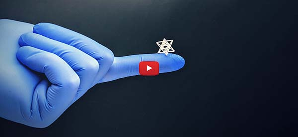 Grow New Tissue on Tiny 3D Printed Molds [video]