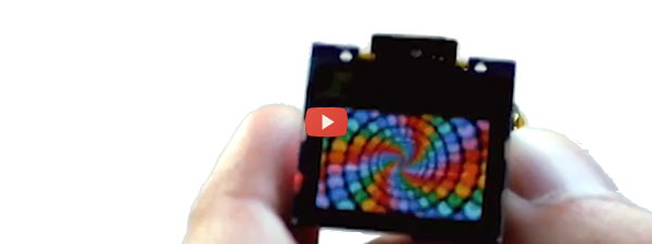 Tiny OLED for DIY Wearable Experimenters [video]